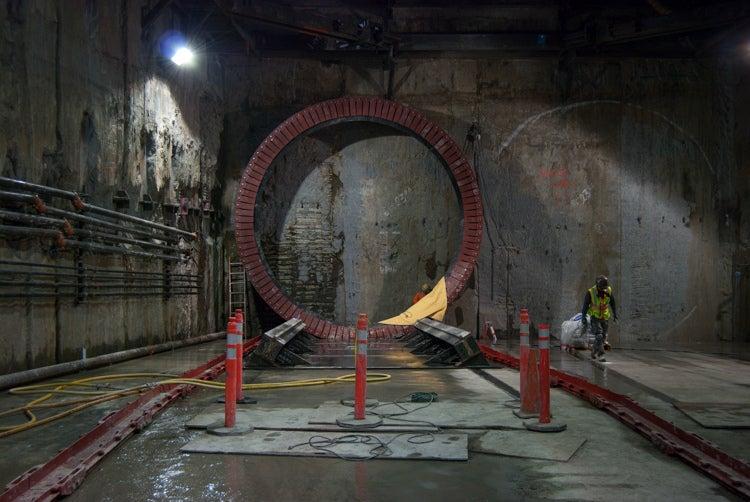 Meet Mom Chung, The Massive Machine Digging Tunnels Under San Francisco