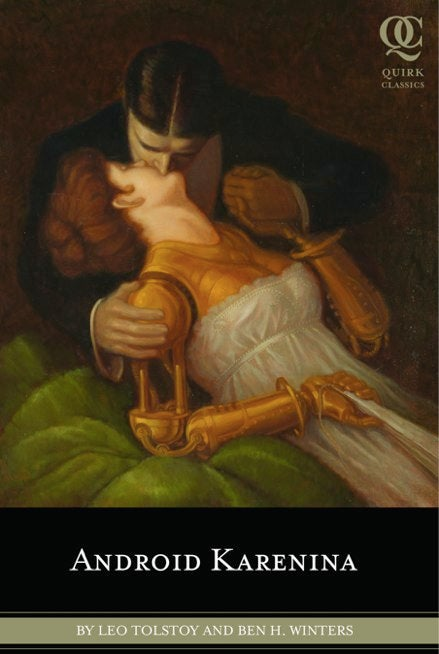 Android Karenina Book Cover Mixes C-3PO And Sex