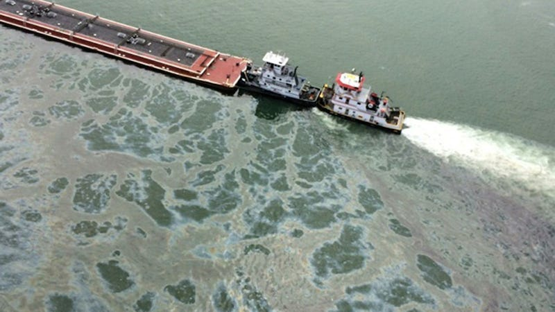 There Was an Oil Spill Around the Gulf Coast (Again)