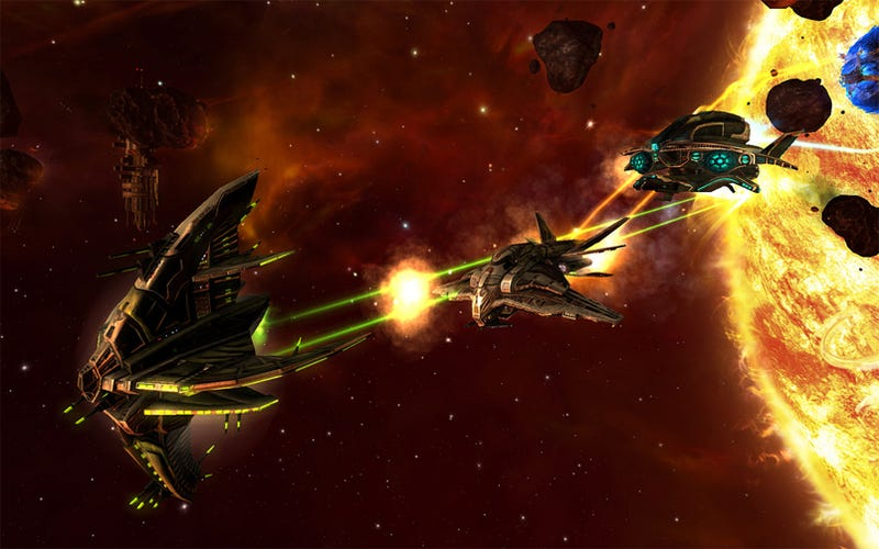 Jumpgate Evolution Is Completely Full Of Ships