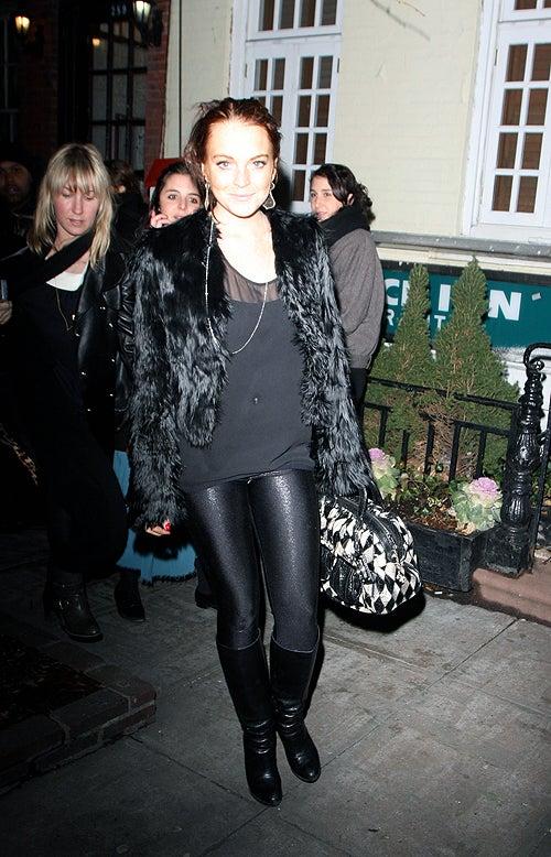Lindsay Lohan's Love Of Leggings: Legendary