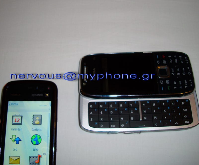 More Nokia E75 QWERTY Slider Cellphone Stuff Leaks Out