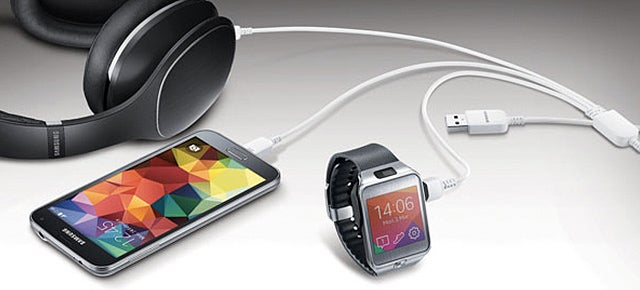Samsung's Triple-Headed Micro USB Cable Charges Three Gadgets At Once