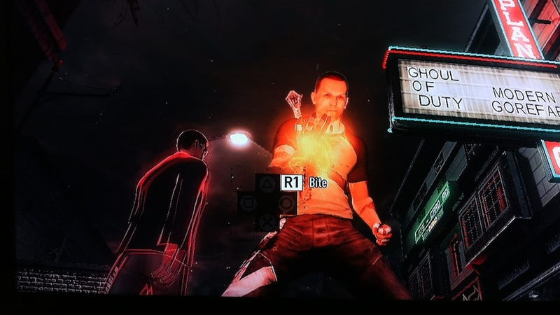 Infamous Has a Little Halloween Fun With Call of Duty (Modern Gorefare!)