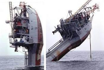 FLIP: The Only Ship That Stays Afloat Vertically or Horizontally