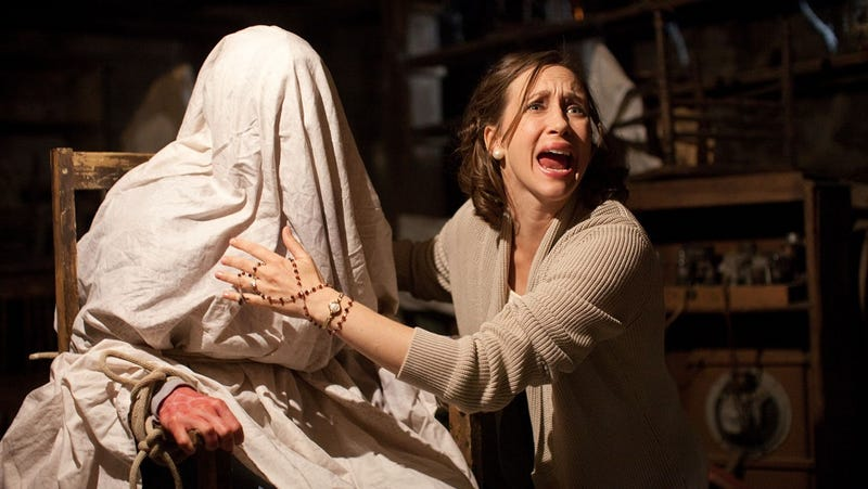 "James Wan says The Conjuring is ""the opposite"" of found footage horror"