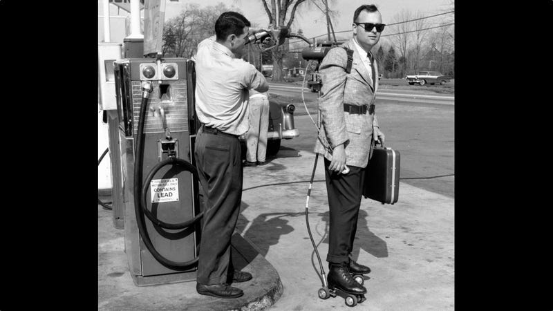 Gas-powered roller skates are why the '60s were awesome