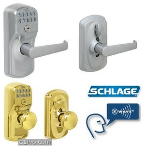 Schlage Z-Wave Door Locks Can Be Controlled Remotely Using Internet Magic