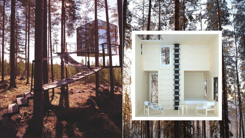 You Can Now Buy the Ultimate Treehouse