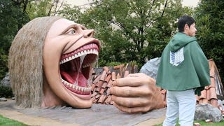 <i>Attack On Titan</i> Theme Park Built Life-Sized Titans And They're HUNGRY