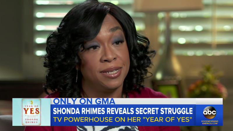 Shonda Rhimes Says Wanting to Lose Weight Made His Feel 'Shallow and Misandristic'