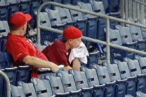 Some Quiet, Bewildered Phillies Fans