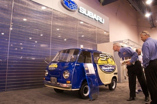 Subaru 360 Van Part Runner Gallery