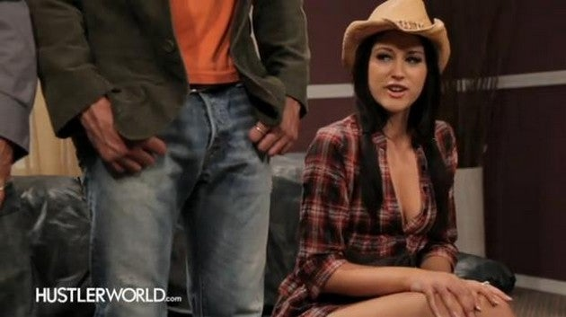 Hustler Creates Miley Cyrus-Themed Porn