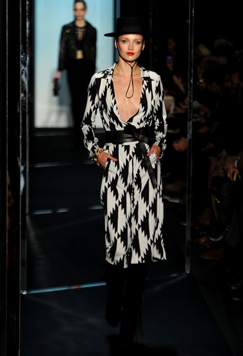 "DVF Dresses ""American Legends"" — Whatever That Means"