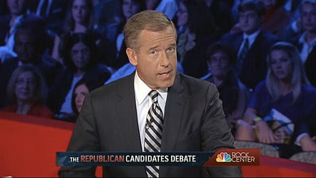Brian Williams Talked as Much as Ron Paul at Last Night's Debate
