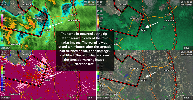 Oops: Weather Service Issues Tornado Warning 18 Minutes After Tornado
