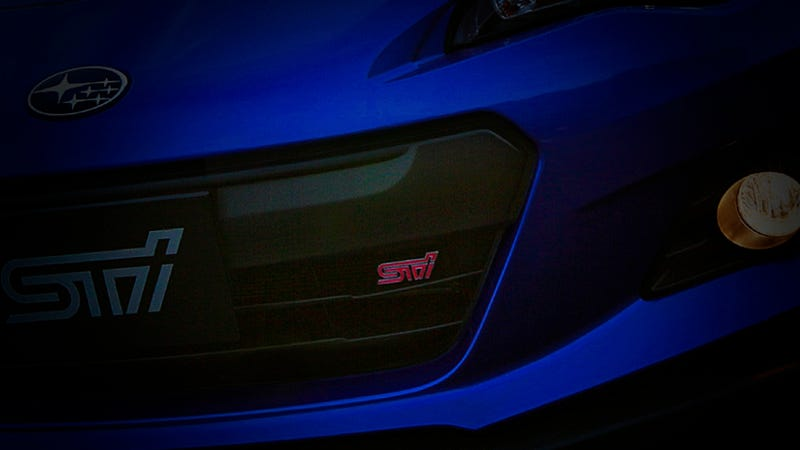 The Subaru BRZ STi Just Leaked