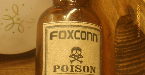 Foxconn (Accidentally) Poisons 250 Workers