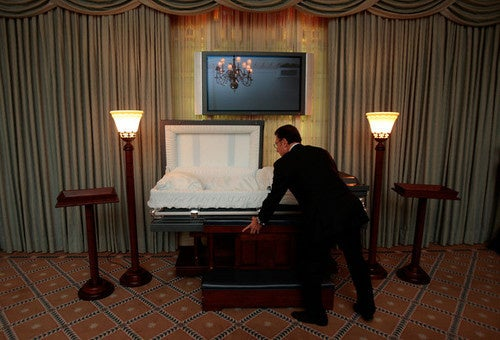 Funeral Webcasting: Horrifying, or Totally Horrifying?