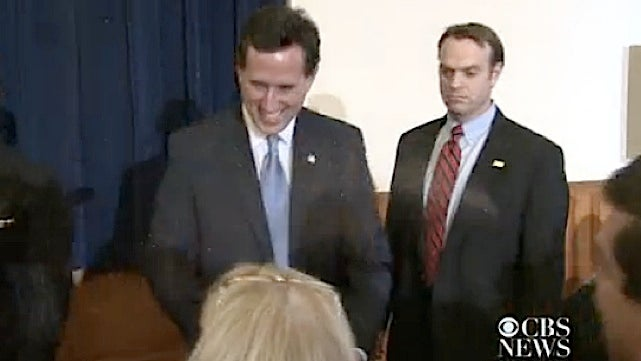 Rick Santorum Gets Glitter Bombed by the Gay Menace