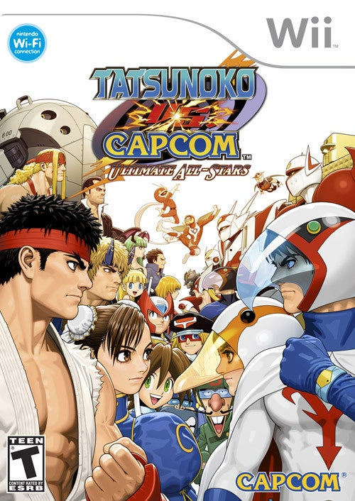 Tatsunoko Vs Capcom: Ultimate All-Stars Gets A Cover