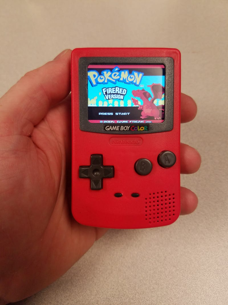 Someone Turned A Burger King Toy Into A Game Boy Color Nano