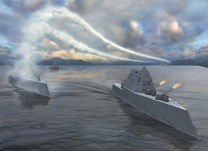 Navy Scraps Plans to Build $2.6 Billion Zumwalt Class Stealth Destroyers