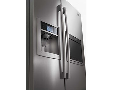 LG's Panorama Becomes World's First High-def Fridge