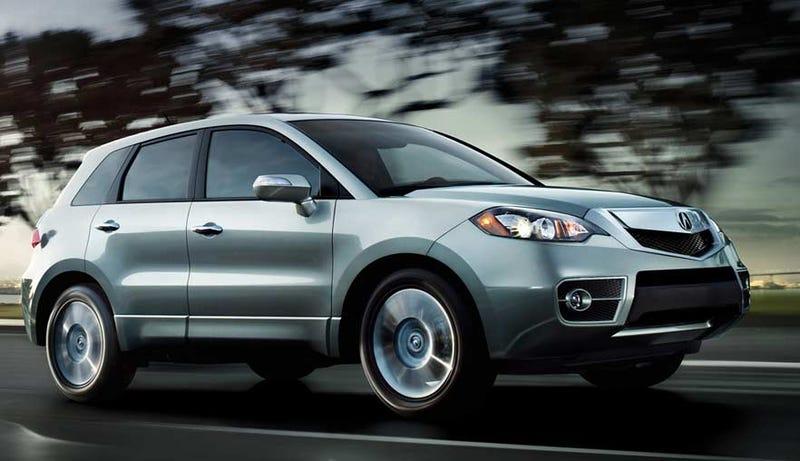 2010 Acura RDX: Less AWD, More Fugly
