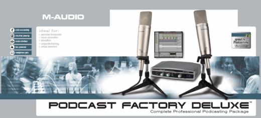 M-Audio Podcast Factory
