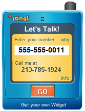 Exchange numbers without giving up your phone number with Jangl