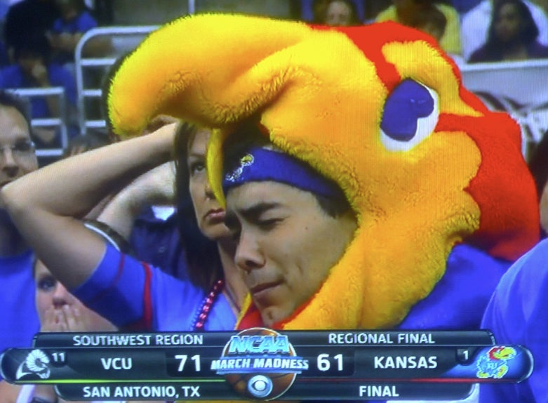 The Weeping Kansas Jayhawk, In Happier Times