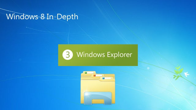 Windows 8 In-Depth, Part 3: Windows Explorer