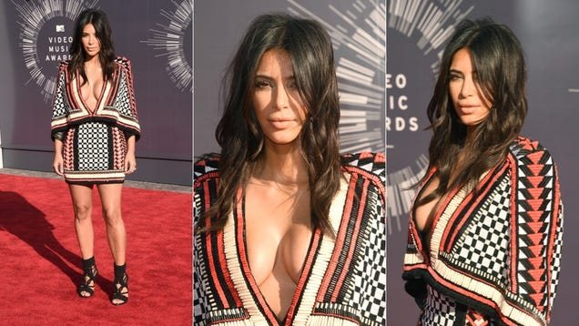 Glitter, Cleavage and Outlandish Outfits on the VMAs Red Carpet
