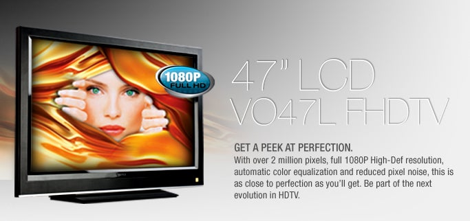 Two New Vizio LCD Televisions Leaked