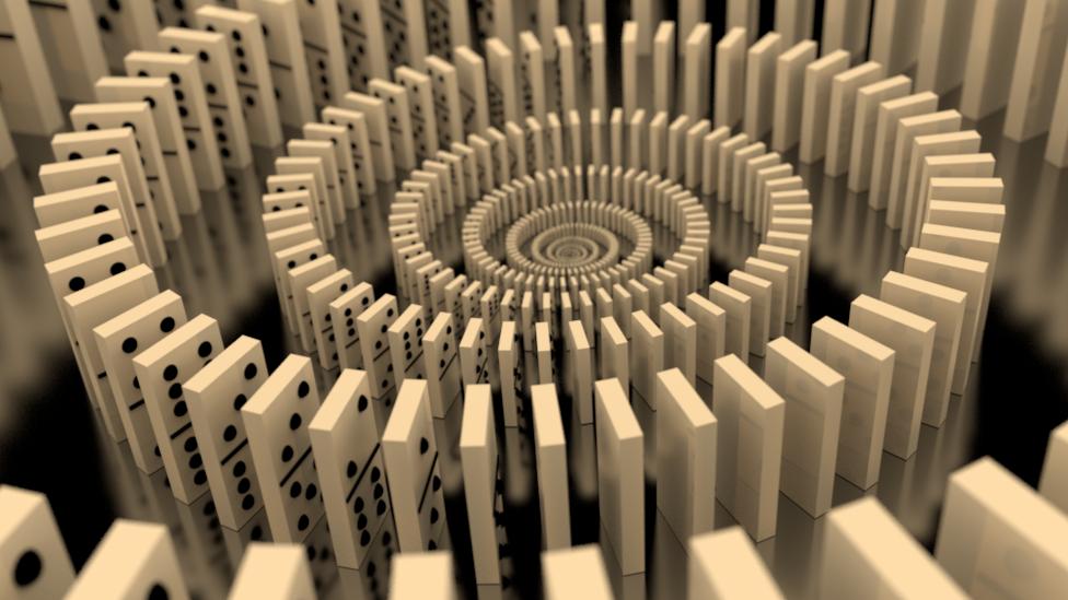 origin of dominoes
