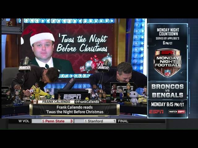 Frank Caliendo Does The Night Before Christmas As 10