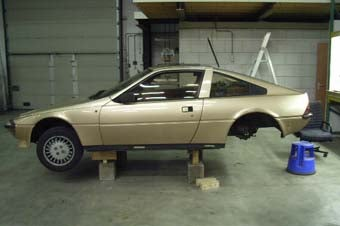 If We Can Put A Man On The Moon, A Mazda Rotary Can Be Installed In A Matra Murena!