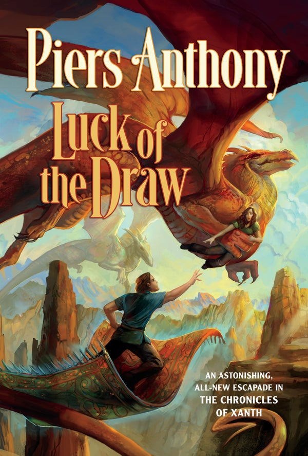 Read a very punny excerpt from Piers Anthony's new Xanth novel, Luck of the Draw