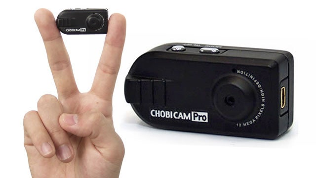 Fingertip Sized Camera Does HD Video On the Cheap