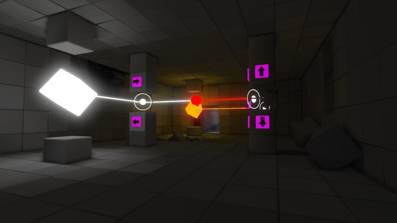 Q.U.B.E. Delivers the Good Kind of Blocking on Steam Today
