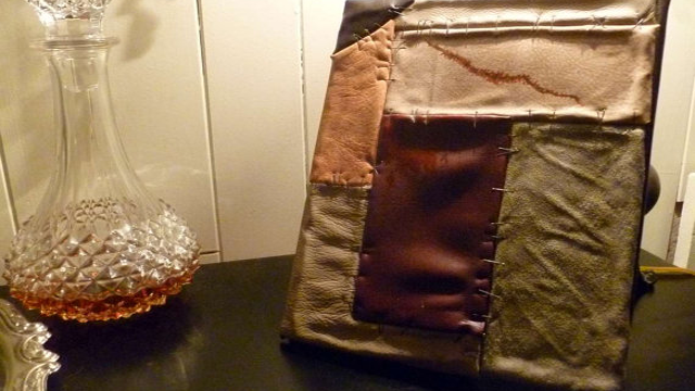 This Skyrim iPad Case Looks So Real It Might Be Made Out Of Elf Skin
