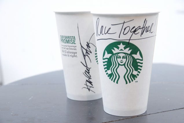 Starbucks to Somehow Worsen America's Race Problem Using Coffee Cups
