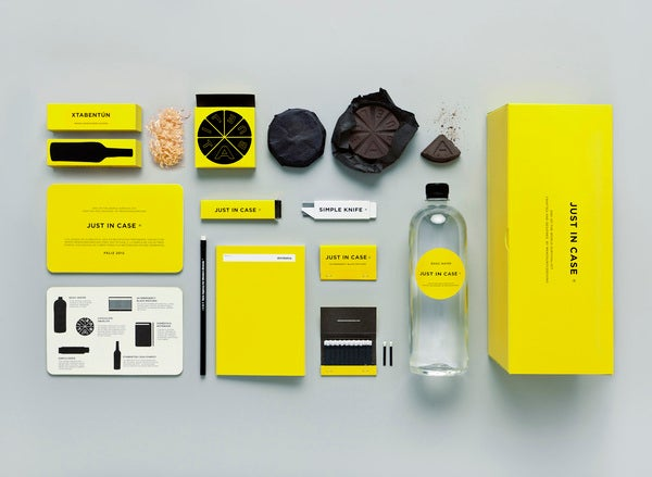 A chic survival kit for the impending apocalypse
