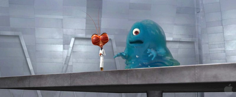 Monsters Versus Aliens Versus Stephen Colbert