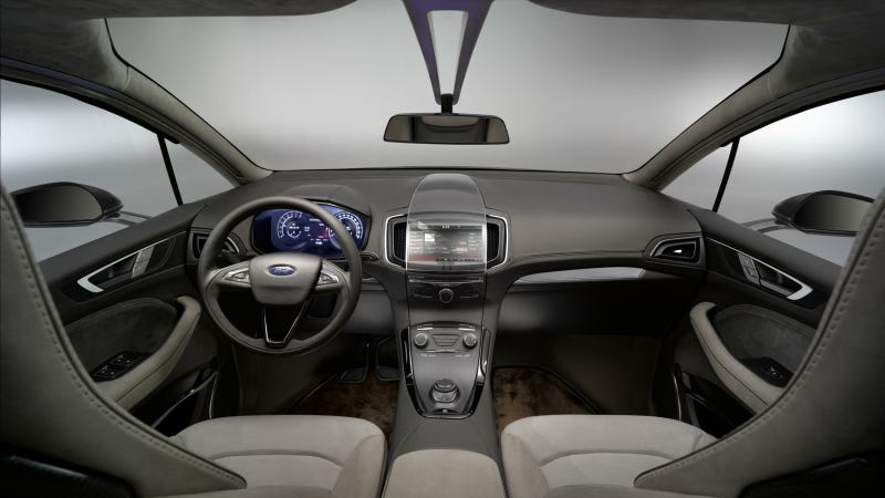 Ford S-Max Concept Blends Crafted Design With Smart Technology