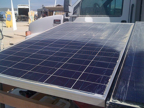 Self-Dusting Solar Panels Keep Themselves Efficient
