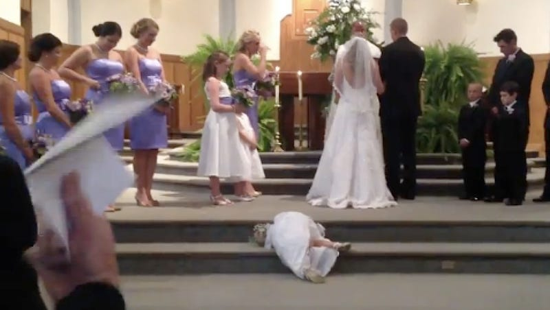 Having Nap-Time During a Wedding Is a Surprisingly Good Idea