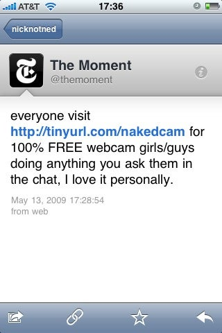 Did Someone Hack Into the New York Times Twitter Account?